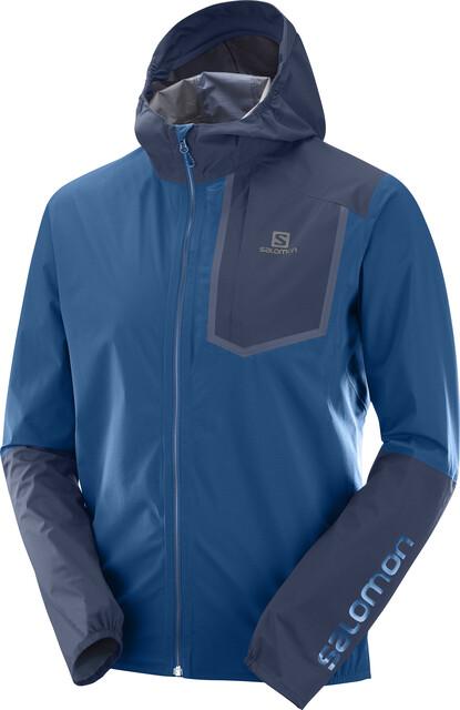 Salomon Bonatti Pro WP Jacket Herren poseidonnight sky